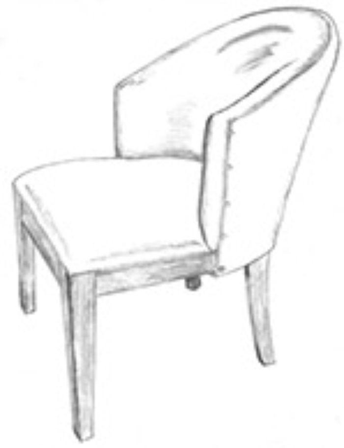 HF 266   Dining Chair   Hallman Furniture