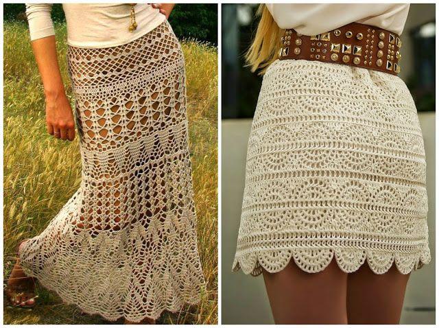 10 Amazing Crochet Skirts Free Patterns And Charts Http