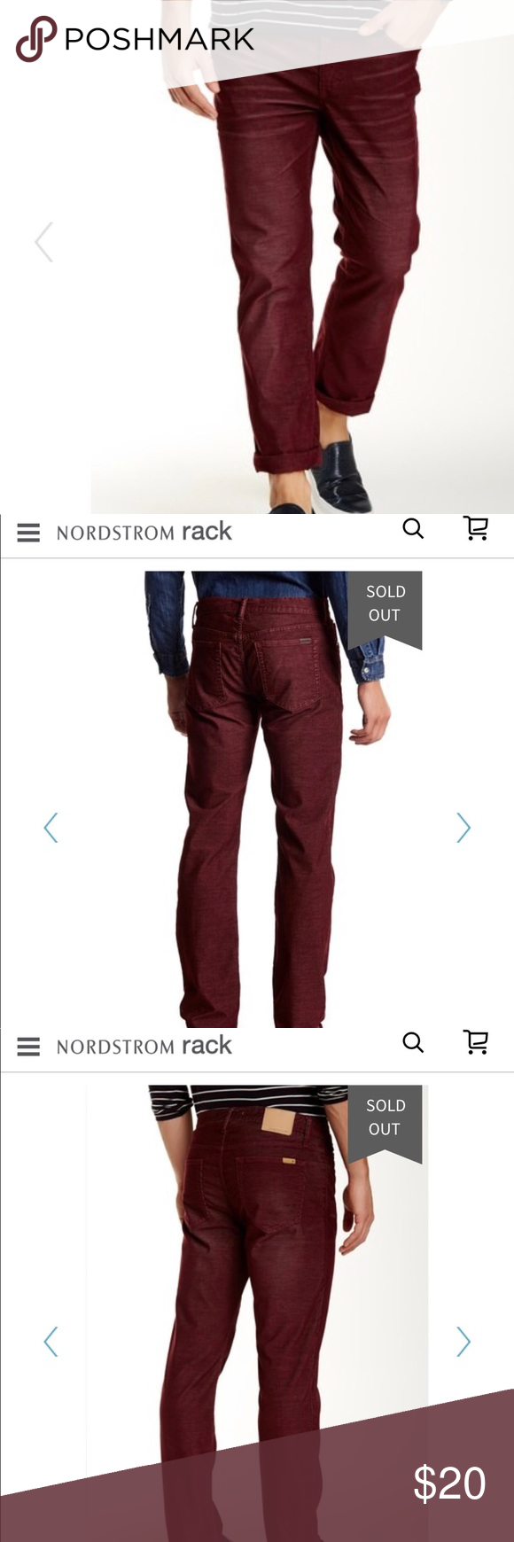 Joe S Jeans The Brixton Slim And Narrow Cords The Brixton In Aubergine Offers The Ideal Balance Of Style And Comfort In Ga Lightweight Pants Joes Jeans Fashion