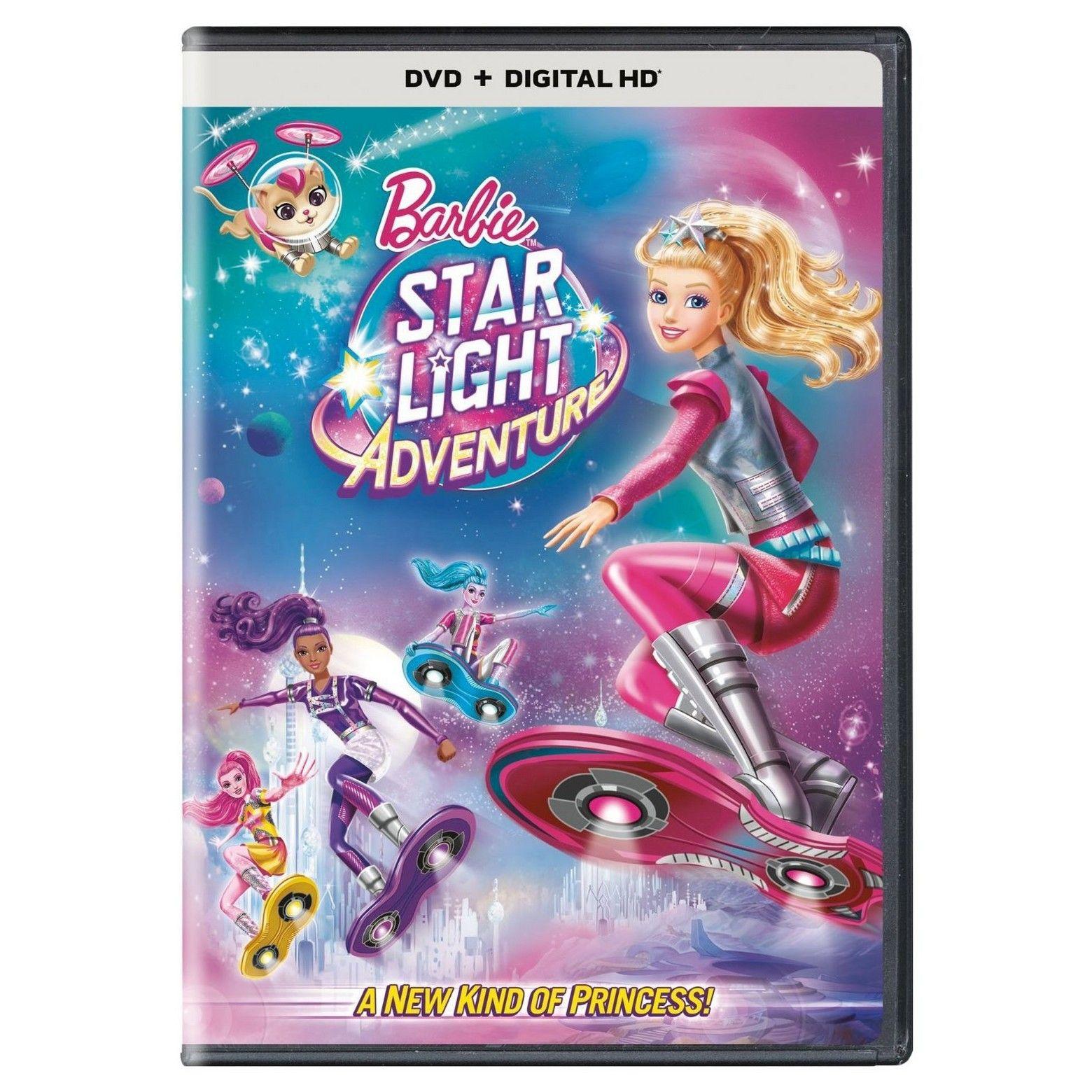 Barbie star light adventure dvd barbie barbie