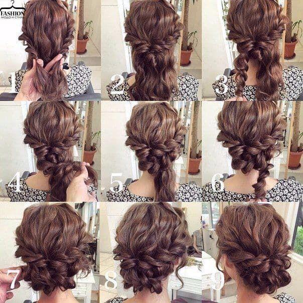 Wedding Hairstyles Medium Length Best Photos Wedding Hairstyles Cuteweddingideas Com Hair Styles Medium Length Hair Styles Hair Tutorial