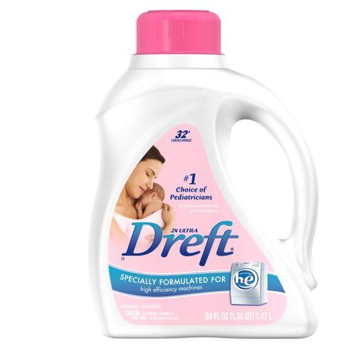 Dreft 2x Ultra Baby Laundry Detergent For High Efficiency Machines