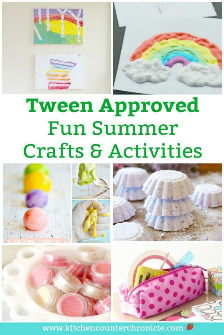 44+ Summer craft ideas for tweens info