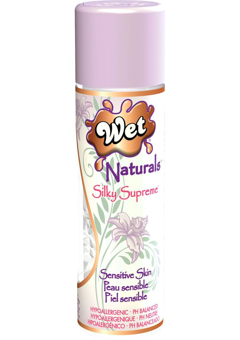 Buy Wet Naturals Silky Supreme Sensitive Skin Silicone Based Lubricant 3.1 Ounce online cheap. SALE! $17.99