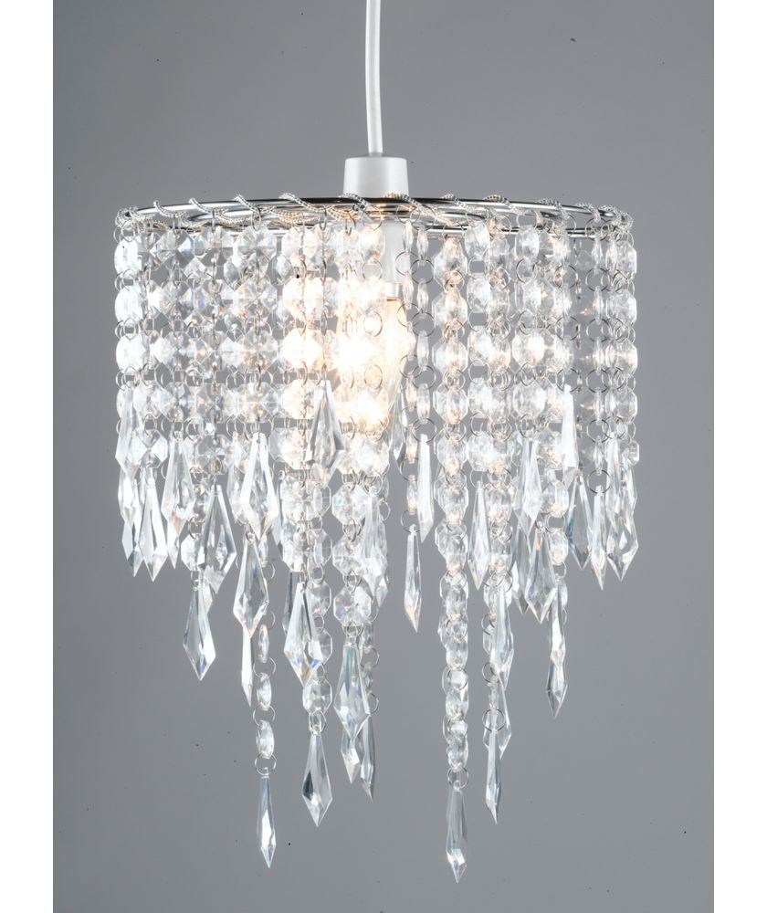 Home Beaded Shade Clear At Argos Co Uk Your Online For Lamp Shades
