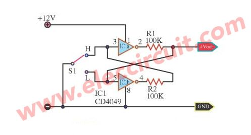 simple-bounceless-switch-using-cd4049