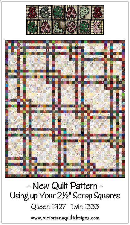 Scraps Galore Quilt Pattern http://www.victorianaquiltdesigns.com/VictorianaQuilters/PatternPage/ScrapsGalore/ScrapsGaloreQuiltPattern.htm #quilting #scraps