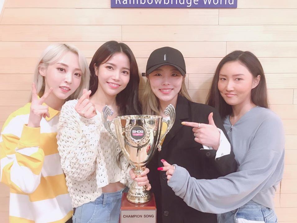 Mamamoo Take Another Win For Gogobebe On Show Champion Mamamoo Kpop Girls Champion