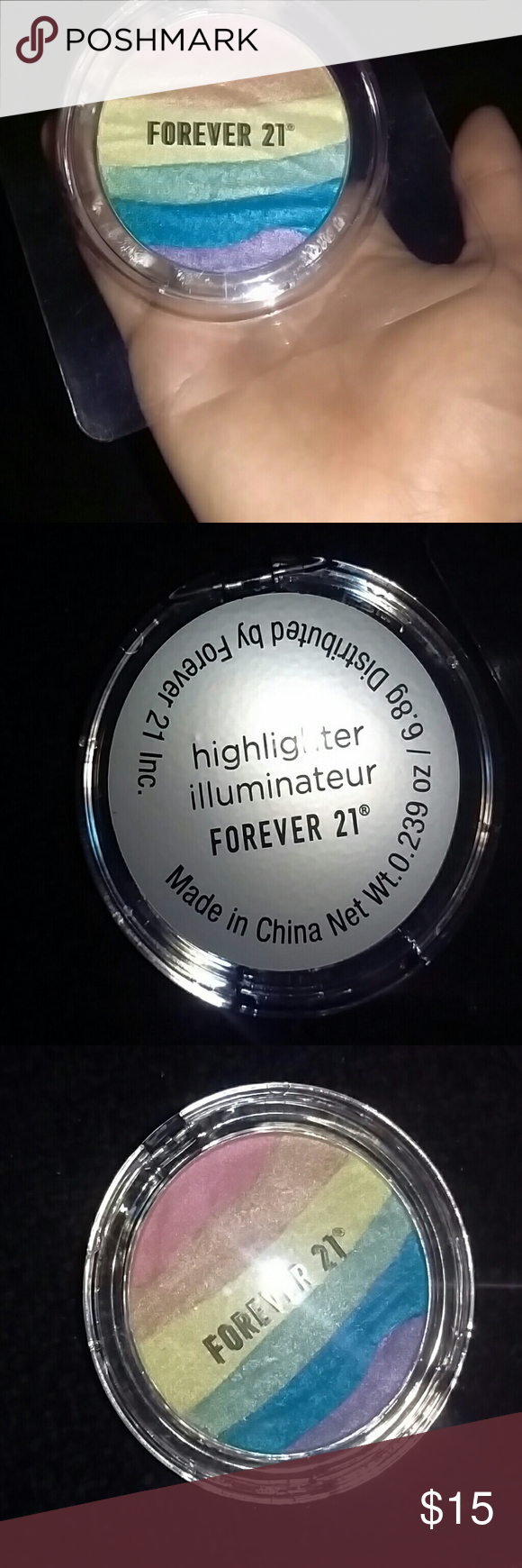 New Gorgeous Forever21 Rainbow Highlighter New Never Been Used Only