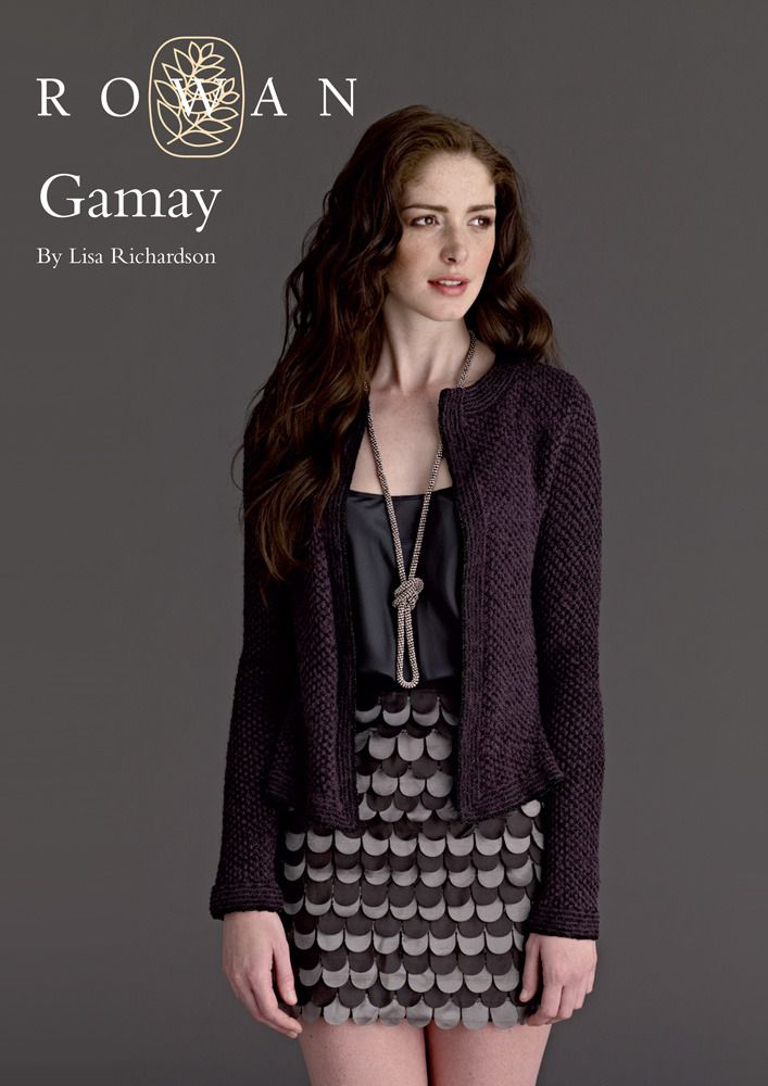 Gamay in Rowan Fine Lace and Anchor Artiste Metallic | Knitted ...