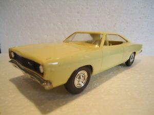 1968 Dodge Coronet 500 2 Door Ht promo model