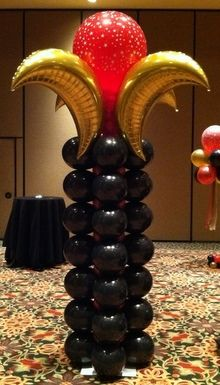 Adult Birthday Party Balloon Decor Tulsa OK Party ideas