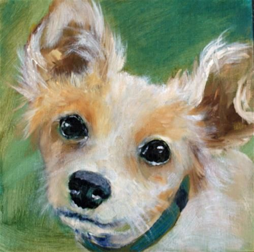 """Daily Paintworks - """"Tinkerbell"""" - Original Fine Art for Sale - © Beverly Koldon"""