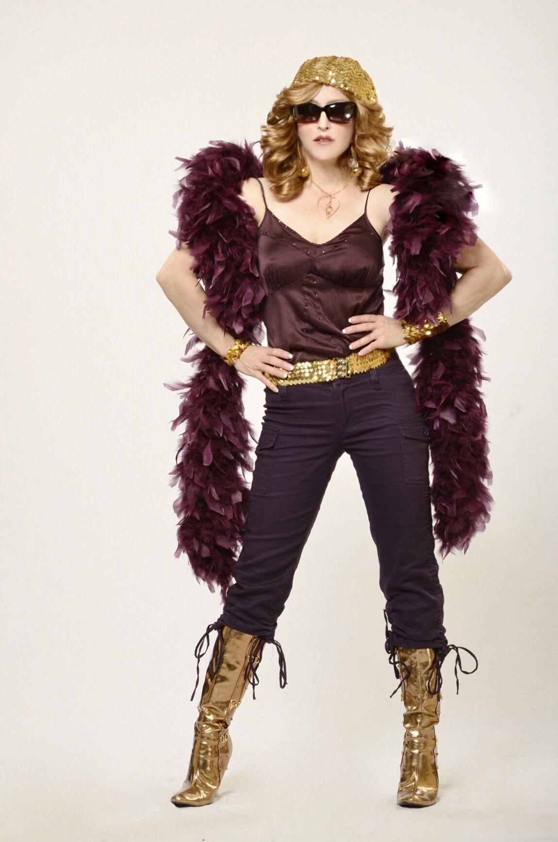 Madonna Impersonator Chris America Hung Up Madonna Madonna