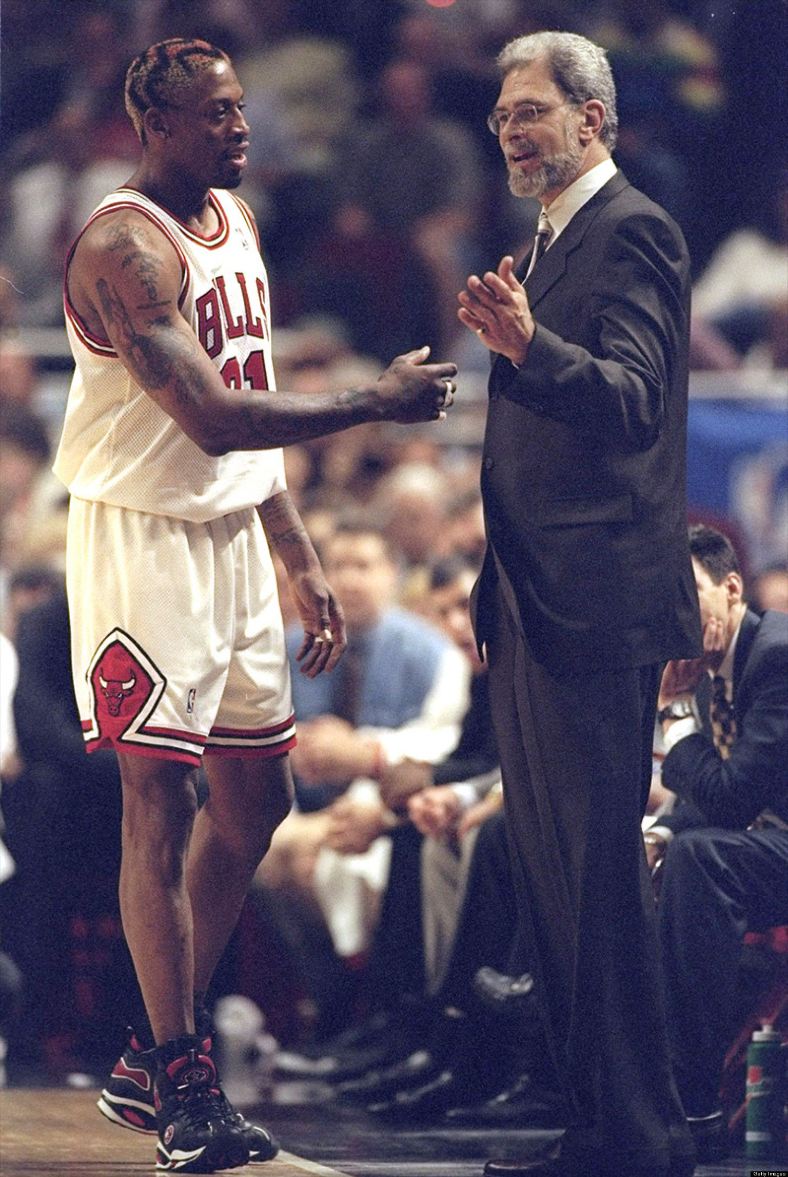 WATCH  Phil Jackson Reveals The Key To Coaching Rebellious Dennis Rodman   w  VIDEO   121c0beec