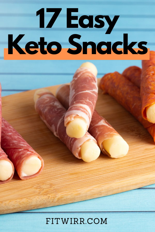 Keto Snacks: 17 Best Low-Carb Snacks to Keep You in Ketosis #ketosnacks