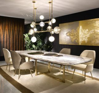 An interior design project always needs a statement furniture pieces. Discover our entire collection of luxury furniture at luxxuhome.net  #diningtable #diningtabledecor #furniture #furnituredesign #luxury #interiordesign #homedecor