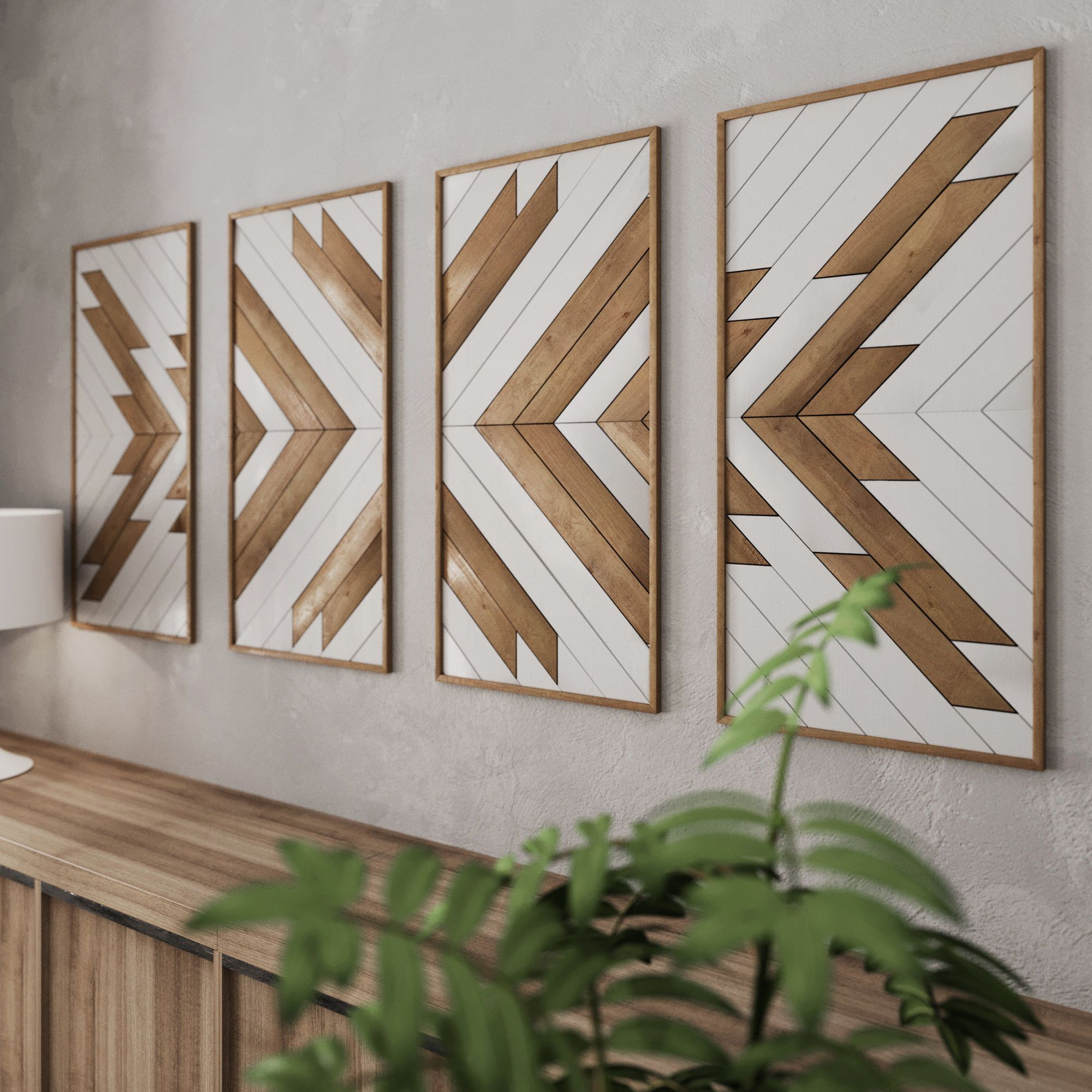 Native Pattern Wood Wall Art Set Large Wooden Wall Art Etsy Wood Wall Art Diy Rustic Wood Wall Art Large Wood Wall Art