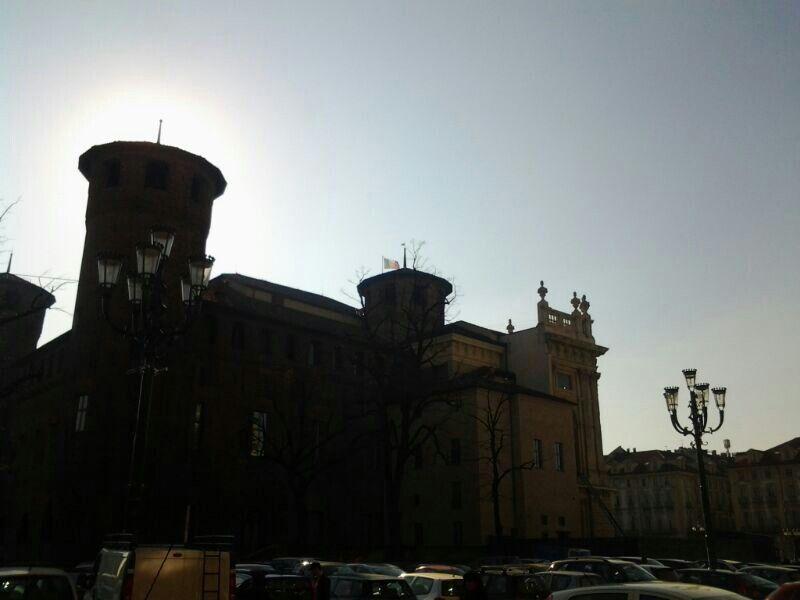 Piazza Castello...TORINO..tramonto