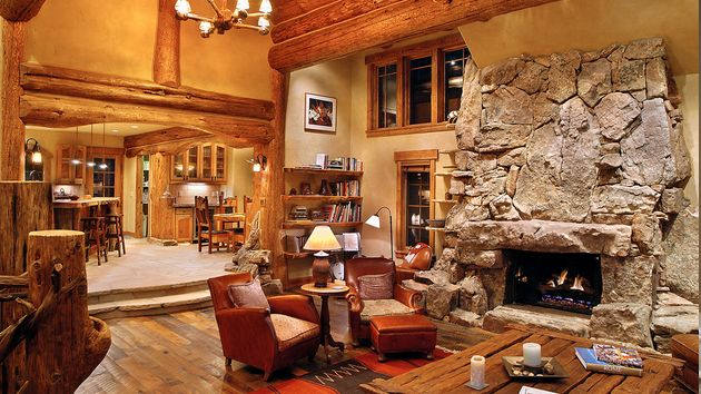 15 Homey Rustic Living Room Designs Living rooms Room and Interiors