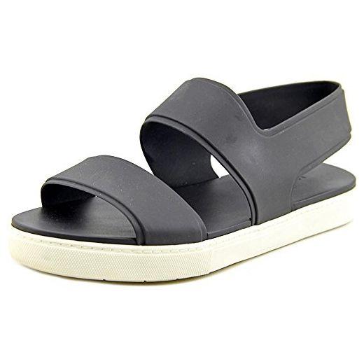 Vince Eres Damen US 8.5 Schwarz Slingback Sandale Sandalen