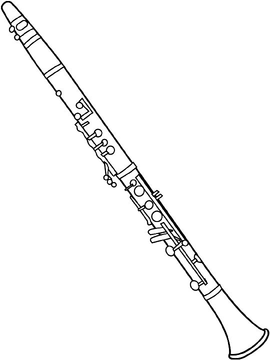 Marching Band Clipart Clarinet Clarinet clip a...