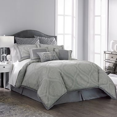 Our New Bedspread Reims 7 Pc Comforter Set Jcpenney
