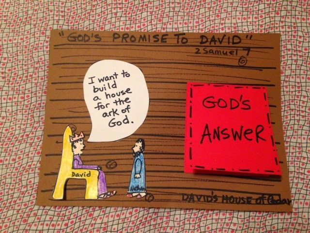 Lesson A Promise God Made To David Sunday School Crafts Bible
