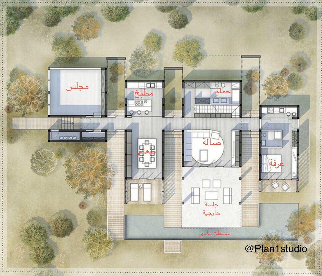 مخططات فلل On Twitter Cool House Designs House Plans Mansion House Design