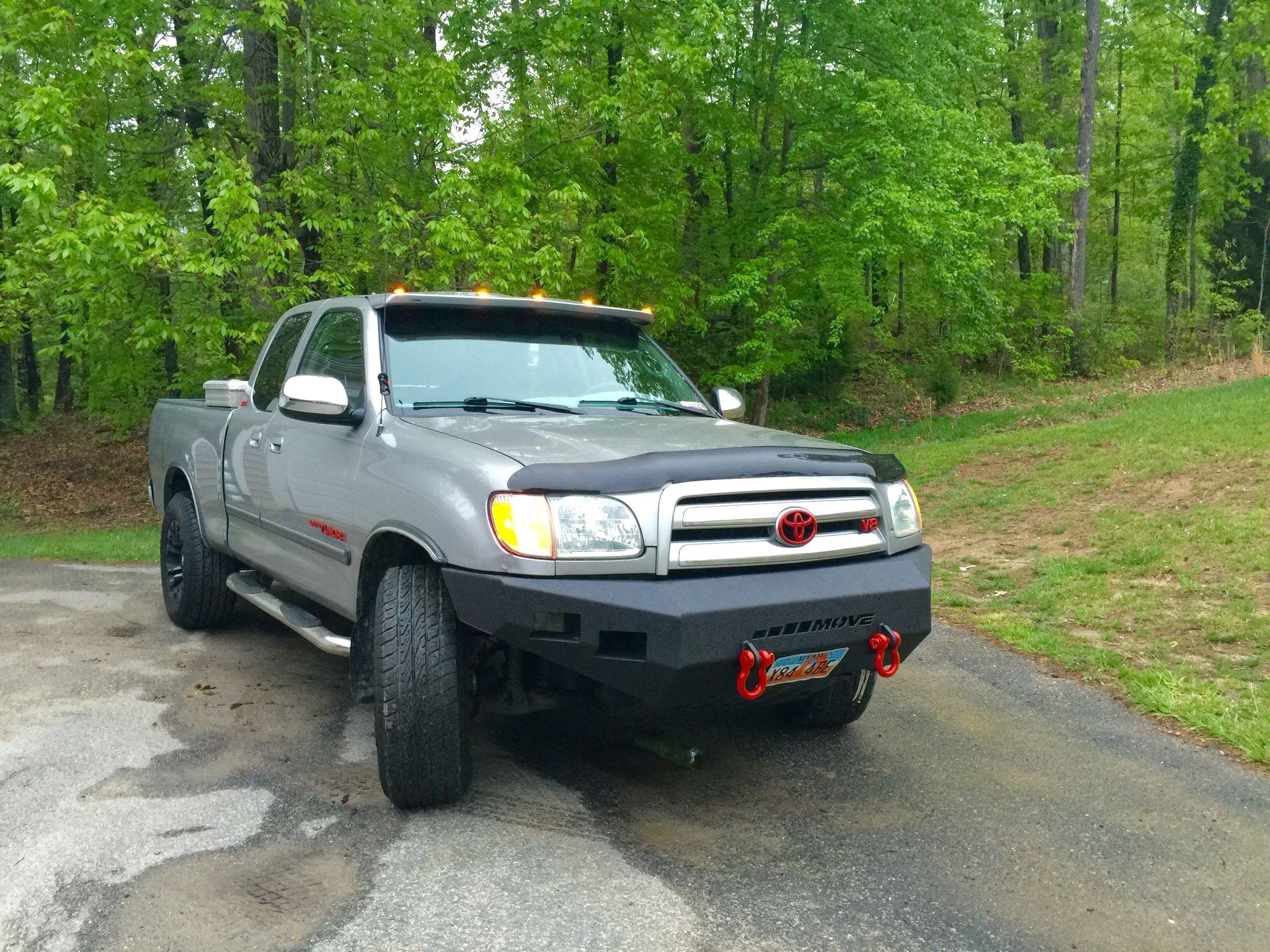 04 toyota tundra move front bumper