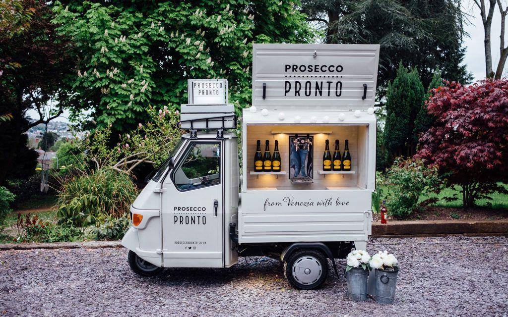 15 most adorable prosecco vans in the uk prosecco van