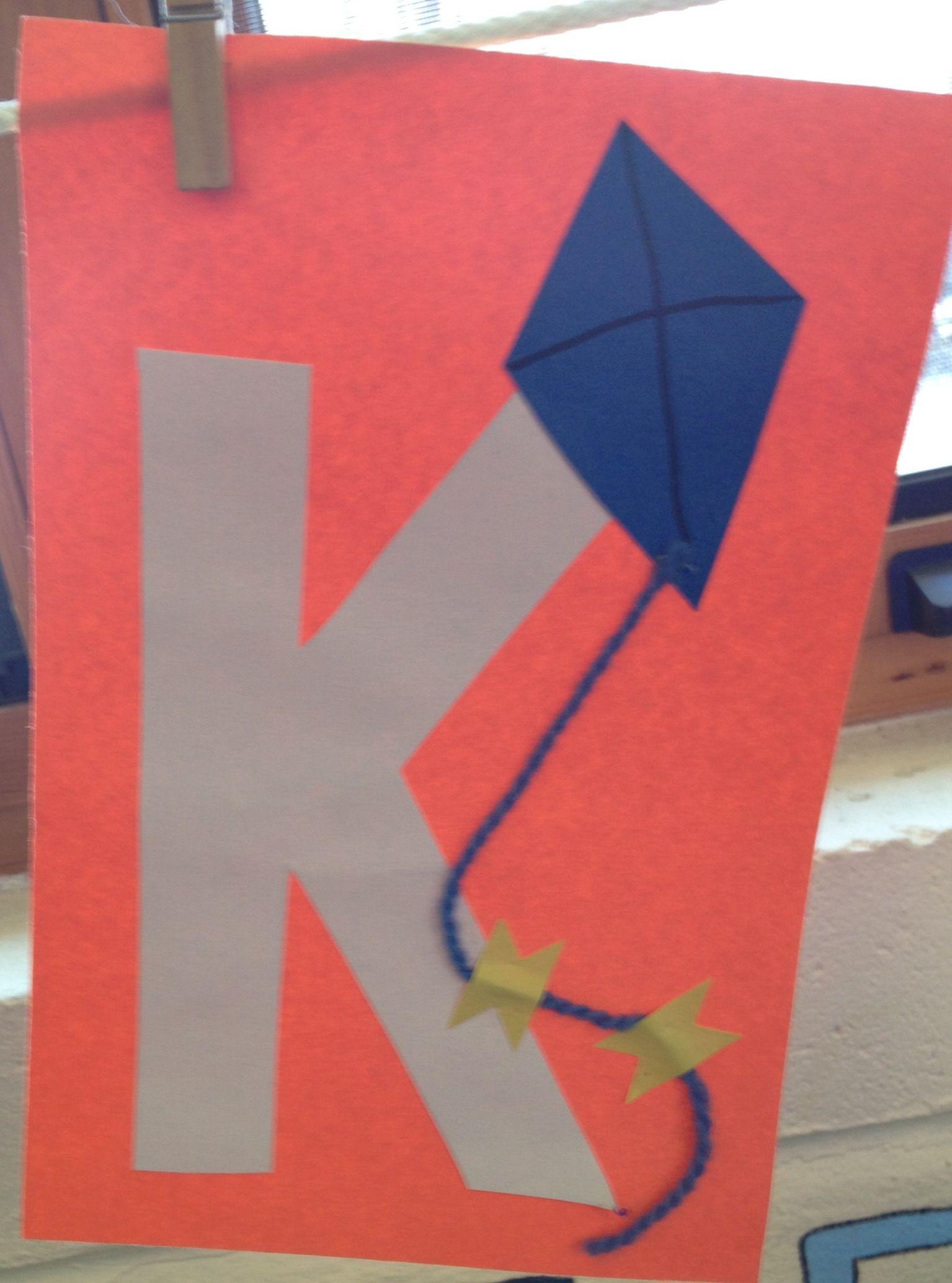 Preschool Letter K Craft
