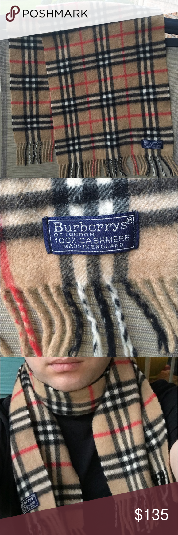 Burberry Scarf Tag : burberry, scarf, Picks