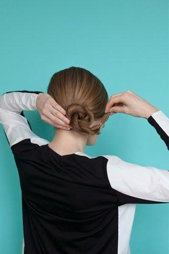 Chignon - How To Do A Chignon Bun Hairstyle