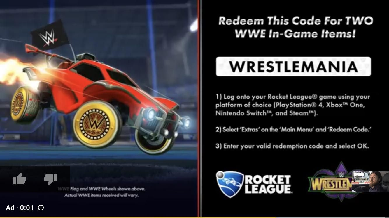 rocket league codes to get items