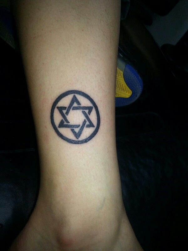 Star of David tattoo | Tattoos By Jud at 7 Sins Tattoo West ...
