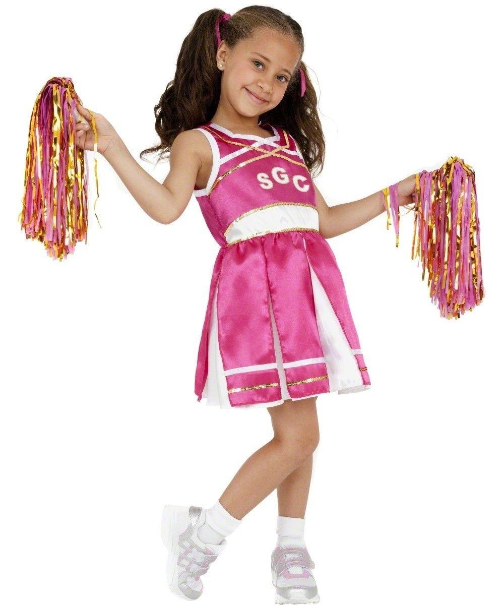 Cheerleader Kinderkostum Pink Weiss Gunstige Faschings Kostume Bei Karneval Megastore Cheerleader Kostum Halloween Kostume Fur Madchen Kinder Kostum