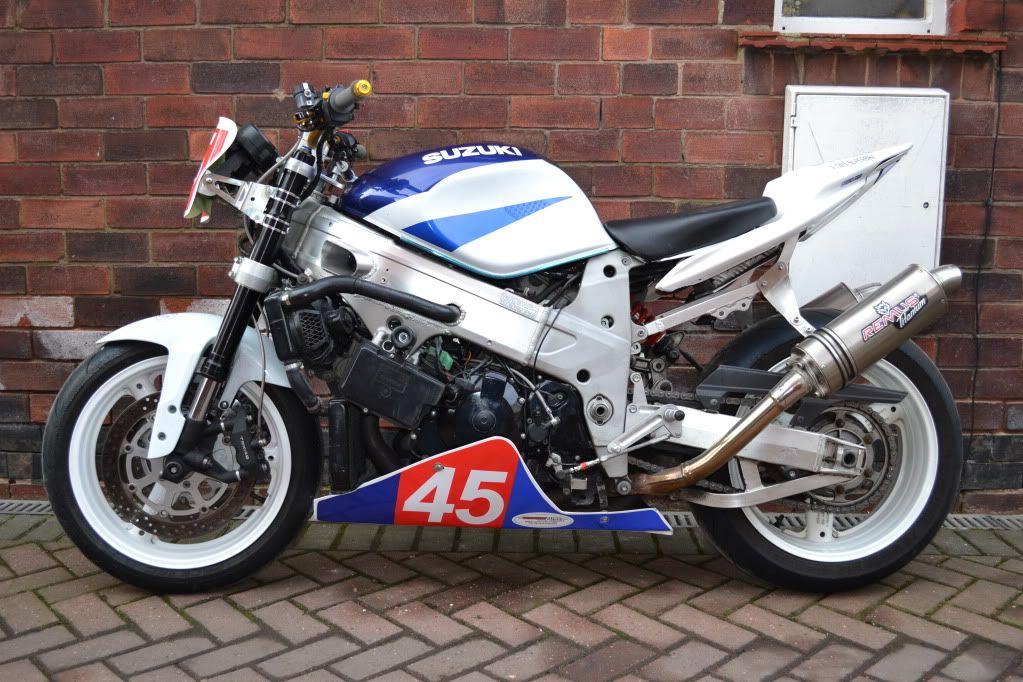great Suzuki TL1000R streetfighter'd with an Yamaha R6 ...  great Suzuki TL...
