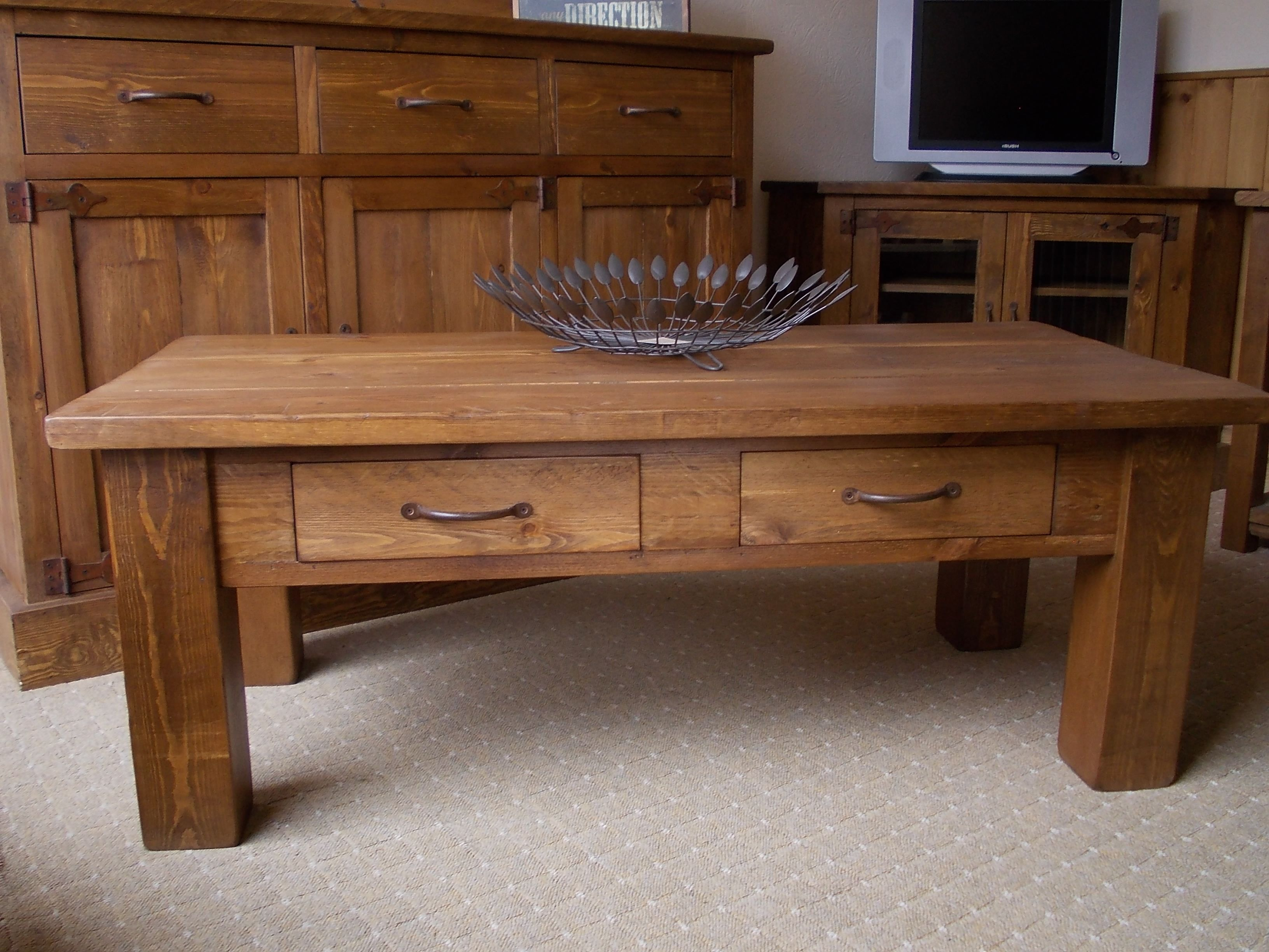 Coffee table with drawers google search ww tables plansideas coffee table with drawers google search geotapseo Image collections