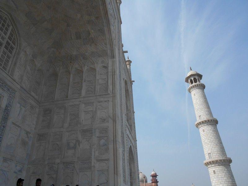 Taj Mahal, India #worldwonders #india #agra #tajmahal