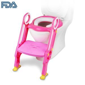 Sensational The Top 10 Best Toilet Seat With Step Stool Ladders In 2019 Short Links Chair Design For Home Short Linksinfo