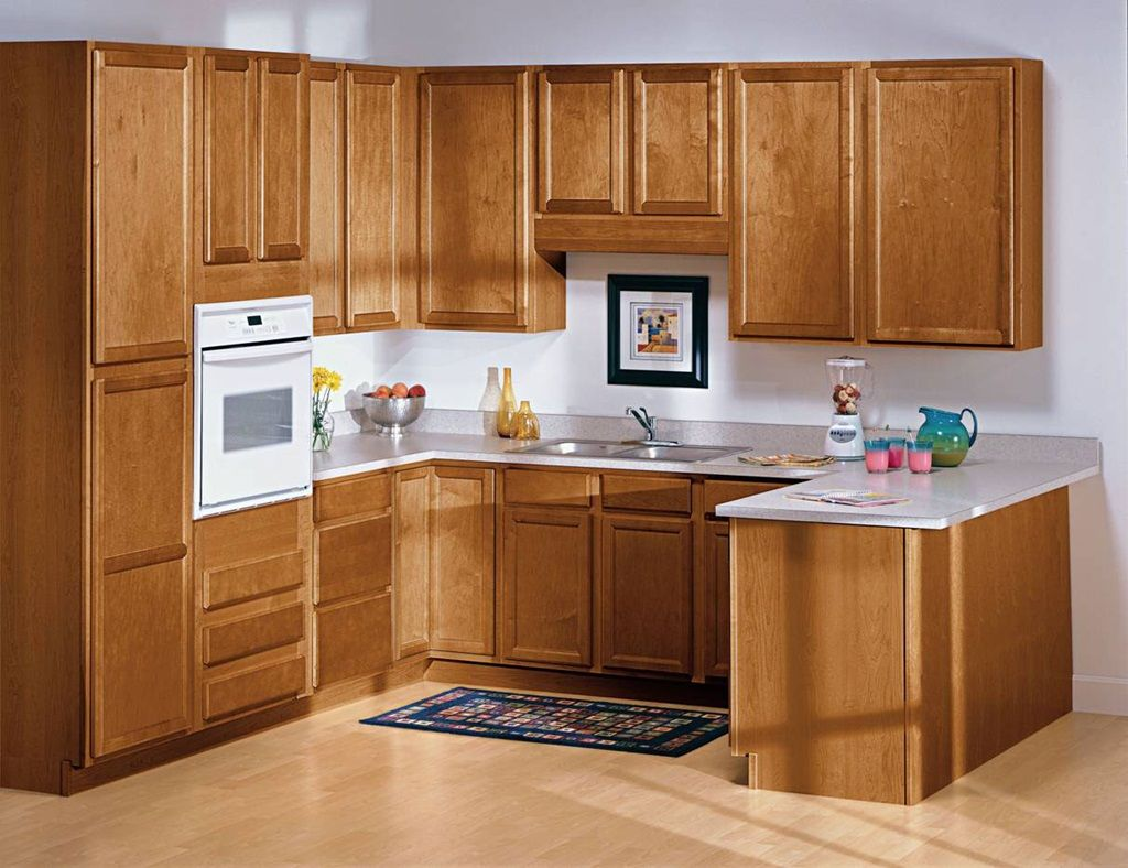 Wooden Simple Kitchen Wood