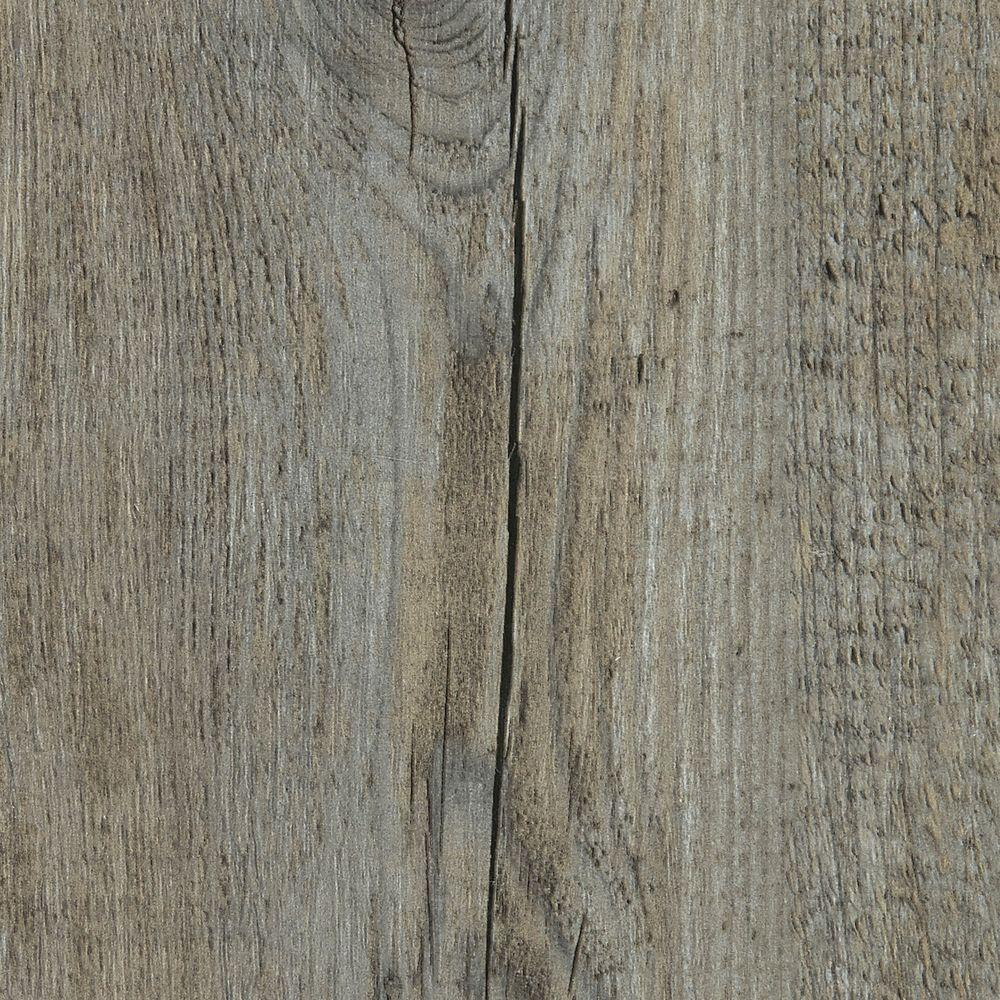 Embossed pine winterwood in wide x in length click lock