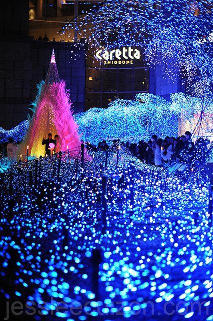 Christmas Illumination In Tokyo Christmas Celebrations Celebration Around The World Christmas Light Displays