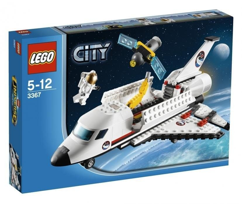Lego Space Shuttle -- Blast off into space after building your very own space shuttle!