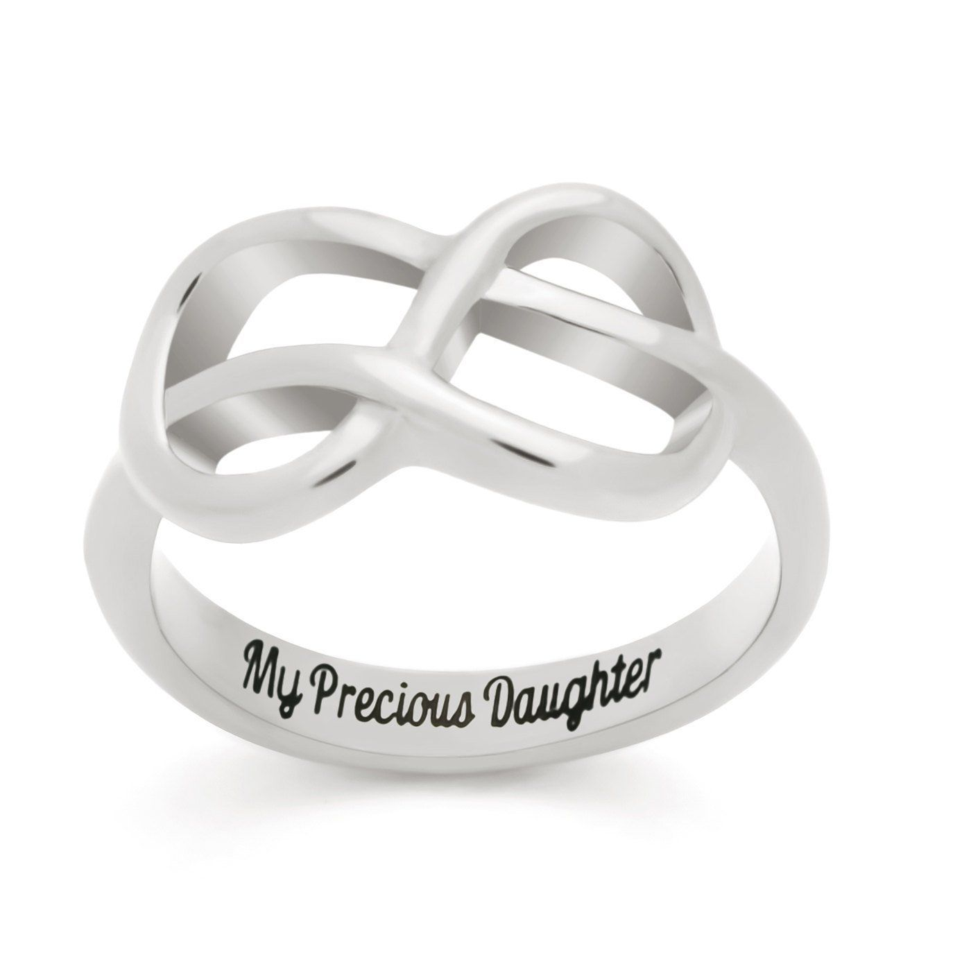 rings ring infinity band wedding silver graphic en love sterling double