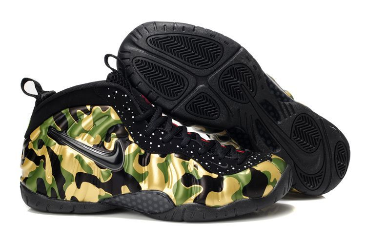 Nike Air Foamposite Pro Army Camo For Sale