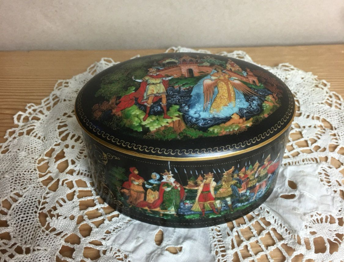 RUSSIA BOX with LID