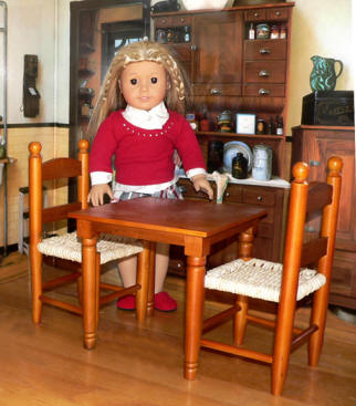 American Girl Doll Furniture: 18 Inch Doll Clothes & Trunks, Beds, Wood, & Upholstered Doll Furniture #18inchdollsandclothes