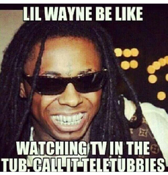 Miraculous Hahaha Call It Teletubbies Lil Wayne Funny Birthday Cards Online Elaedamsfinfo